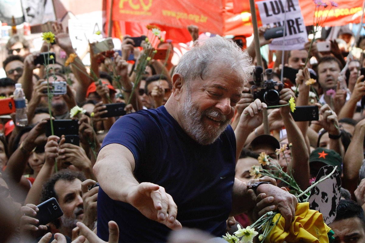 "I Just Visited Lula, the World's Most Prominent Political Prisoner. A ""Soft Coup"" in Brazil's Election Will Have Global Consequences."