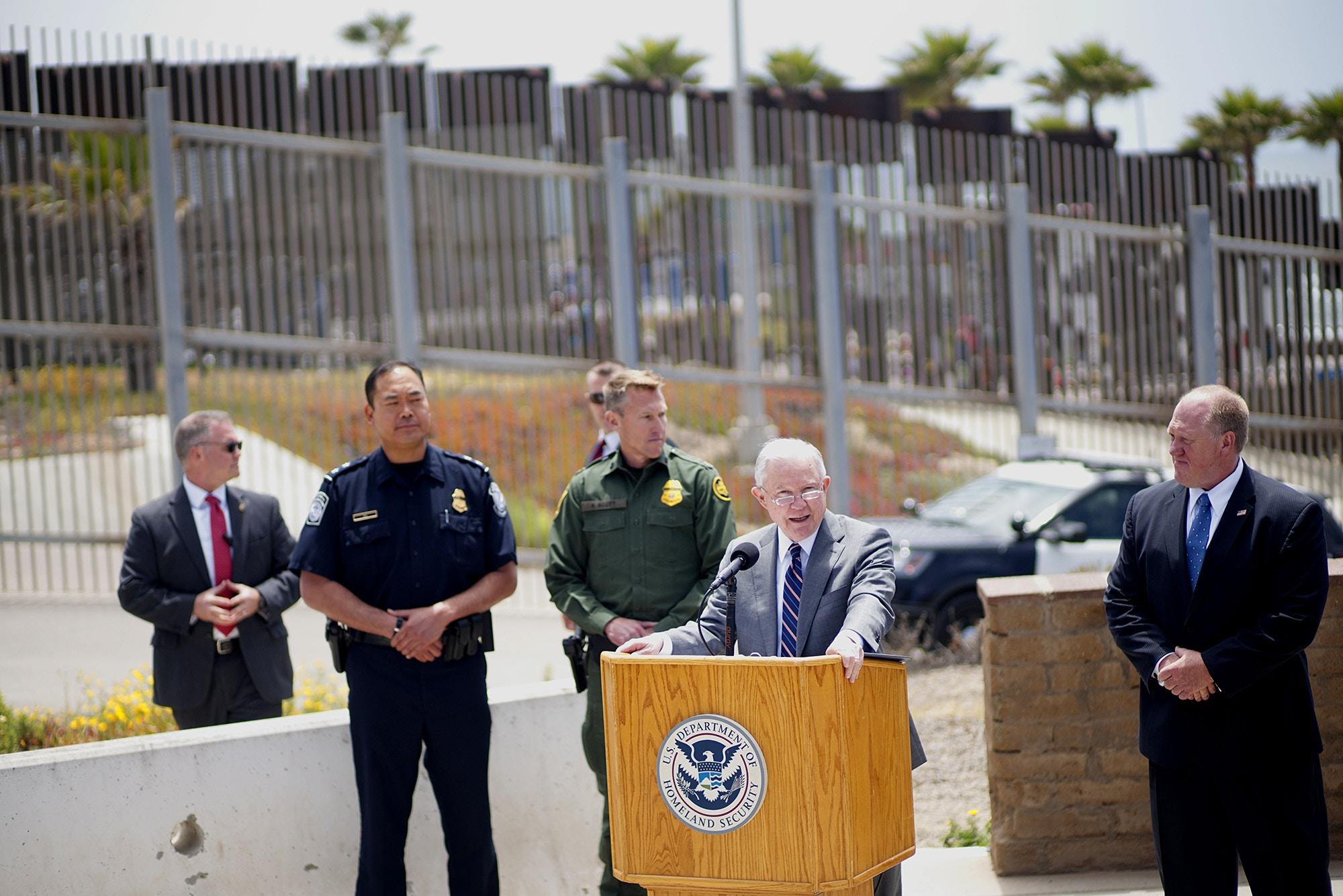"Zero Tolerance"" Pushed Asylum-Seekers to Cross Illegally"