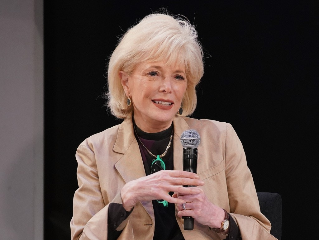 NEW YORK, NY - MAY 09:  Moderator Lesley Stahl speaks during the Showtime Emmy FYC Screening of The Fourth Estate at TheTimesCenter Stage on May 9, 2018 in New York City.  (Photo by Cindy Ord/Getty Images for Showtime)