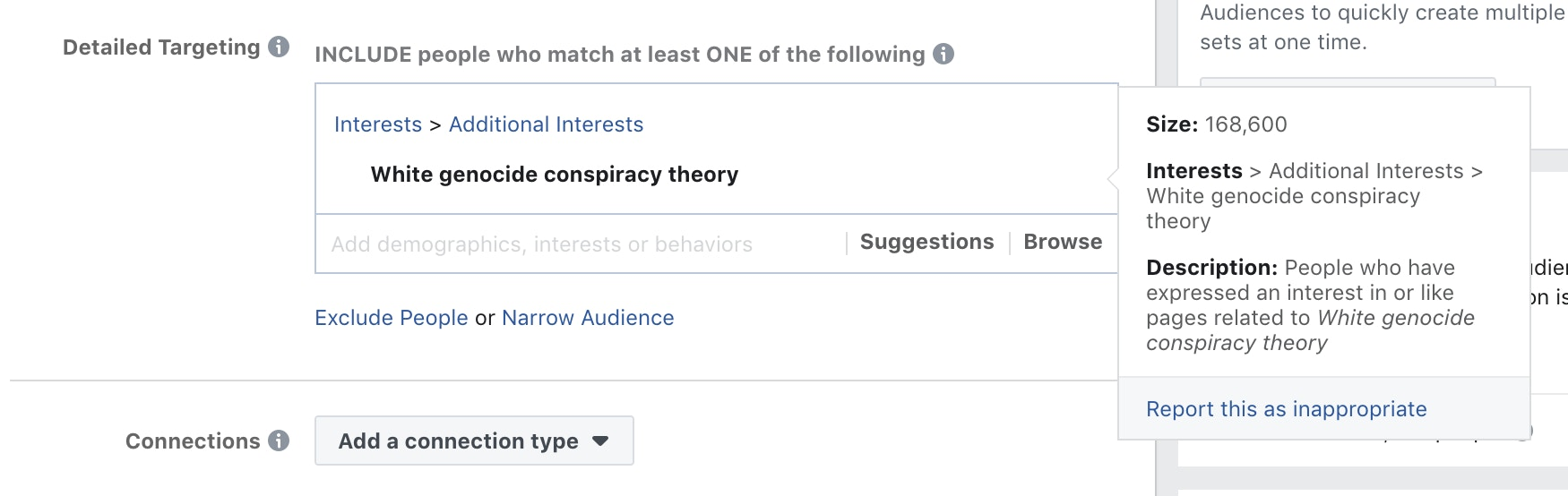Facebook Allowed Advertisers to Target Users Interested in