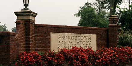 The campus of Georgetown Prep, where Judge Brett Kavanaugh went to high school, in Bethesda, Md., Sept. 17, 2018. Long-ago allegations against Kavanaugh are being assessed under different social and cultural conventions than when the episode allegedly occurred. (Justin T. Gellerson/The New York Times)