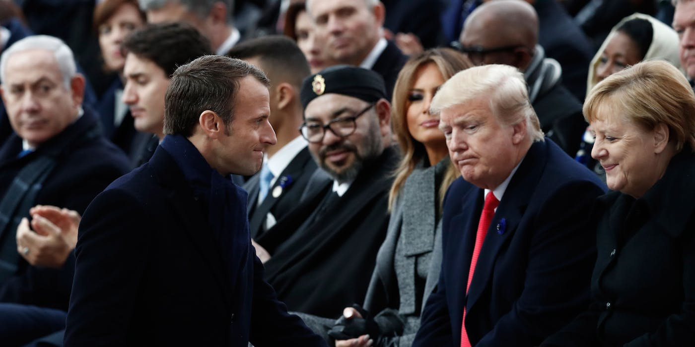 Trump Points to Polls in France, Where 80 Percent Say He's a Dangerous, Incompetent Racist