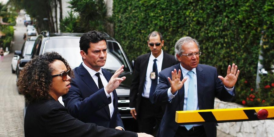 Antes de assumir, os futuros ministros Paulo Guedes e Sergio Moro comentaram a possibilidade de deixar seus cargos.