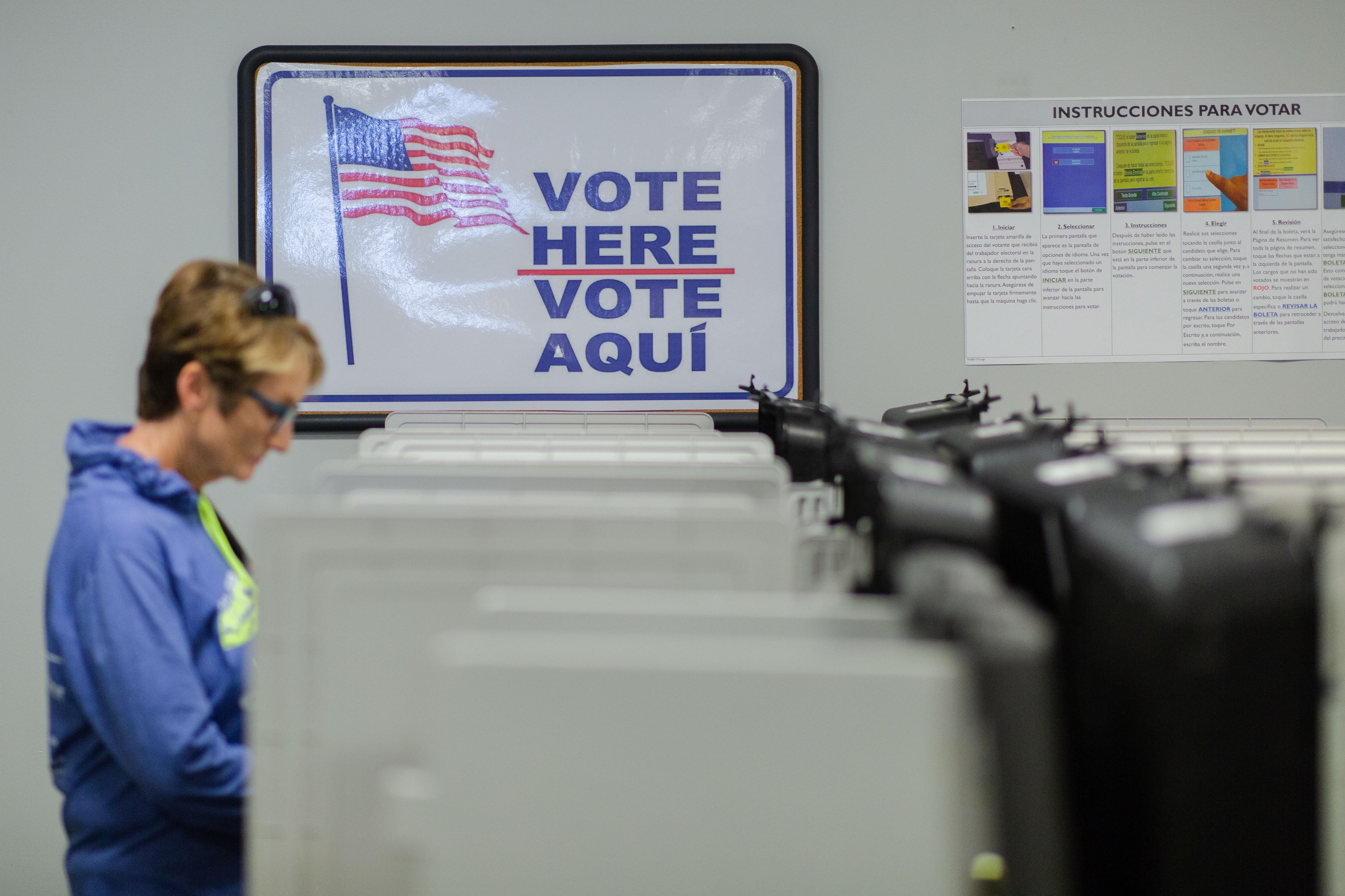 Georgia Election: Voting in Spanish in Gwinnett County