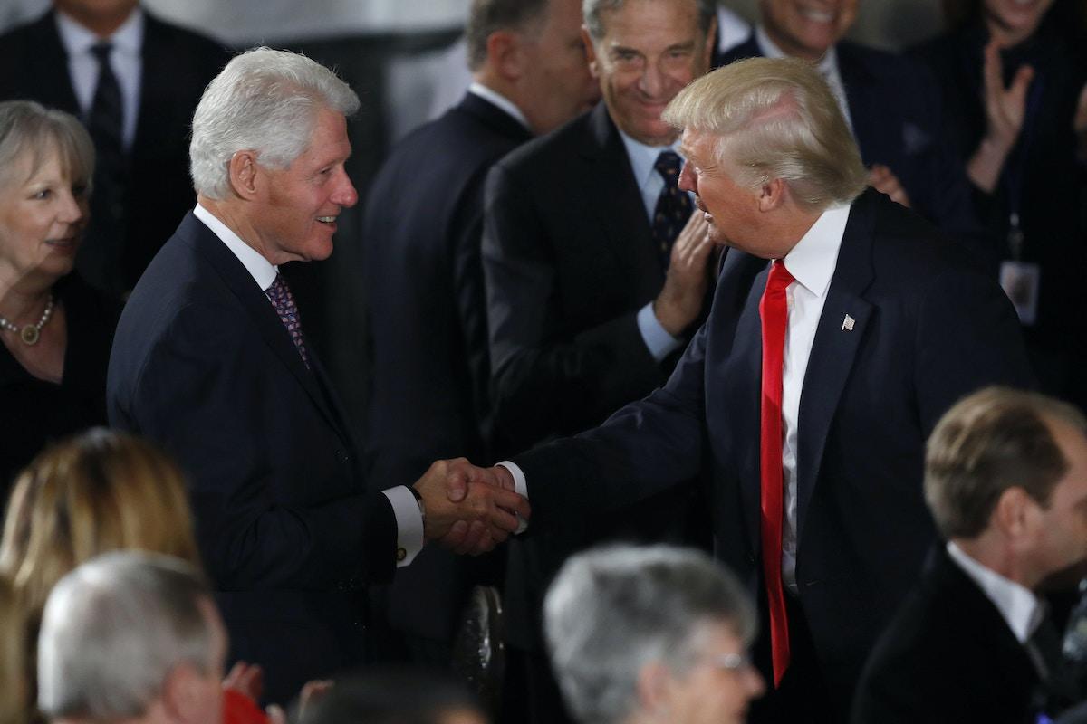 Republican Senators on Impeaching Clinton vs  Trump