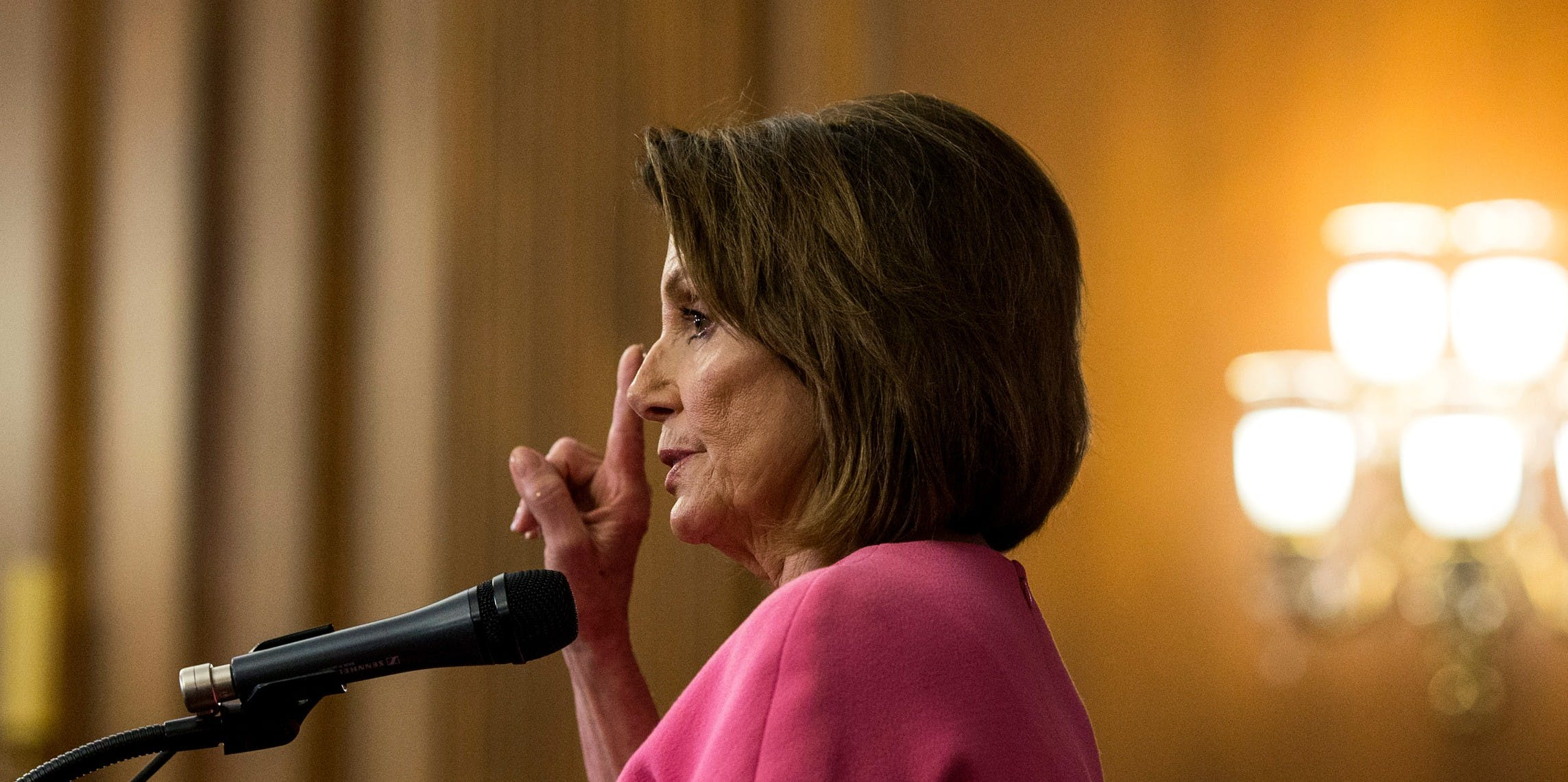 """Nancy Pelosi Wants to Find """"Common Ground"""" With Donald Trump. But Her Job Right Now Is to Fight Fascism."""