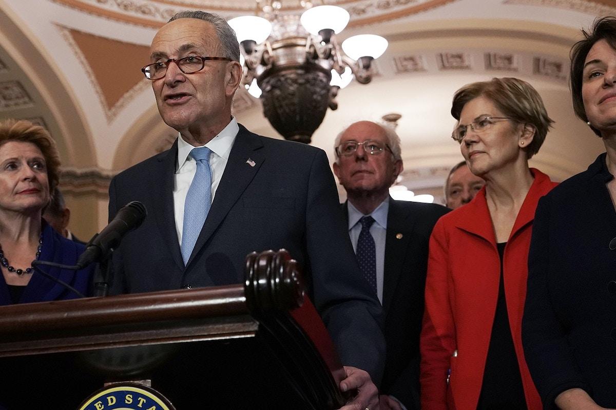 Chuck Schumer Caved to Facebook and Donald Trump. He Shouldn't Lead Senate Democrats.