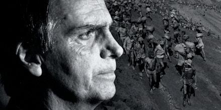 No passado, Bolsonaro e o pai tentaram a sorte como garimpeiros em Serra Pelada.