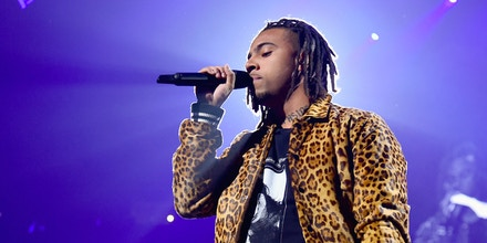 NEW YORK, NY - OCTOBER 17: Vic Mensa performs onstage during TIDAL X: Brooklyn at Barclays Center of Brooklyn on October 17, 2017 in New York City.  (Photo by Theo Wargo/Getty Images for TIDAL)