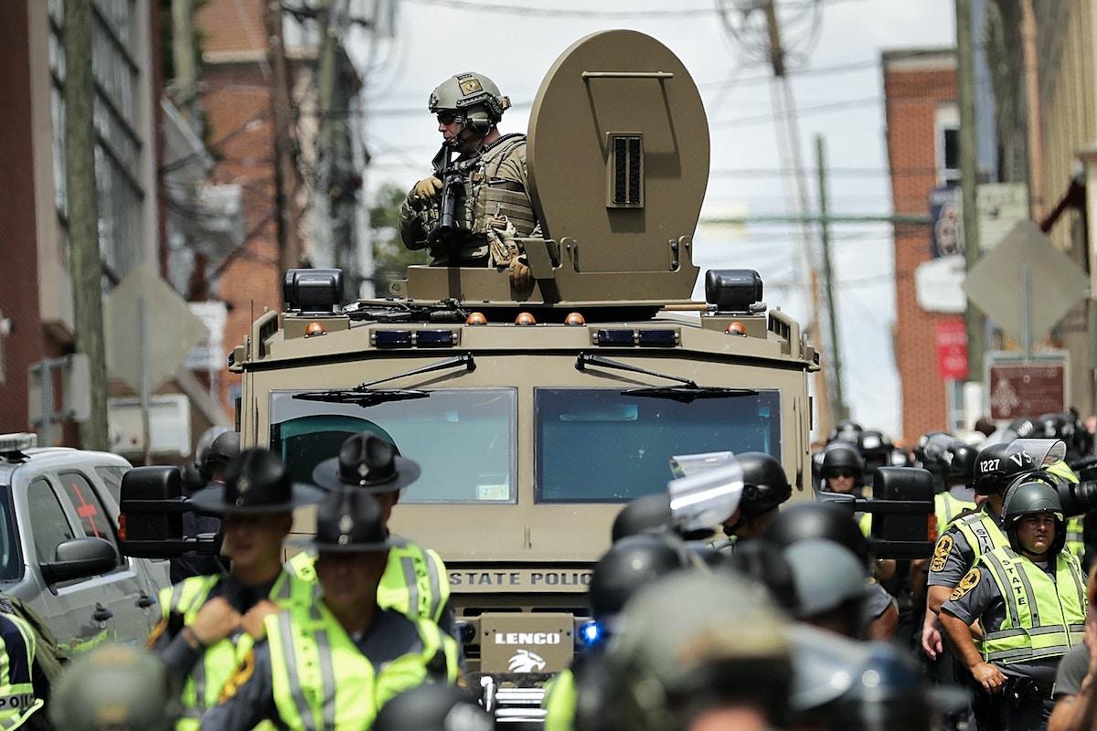 How U S  Politics Have Become Paramilitarized