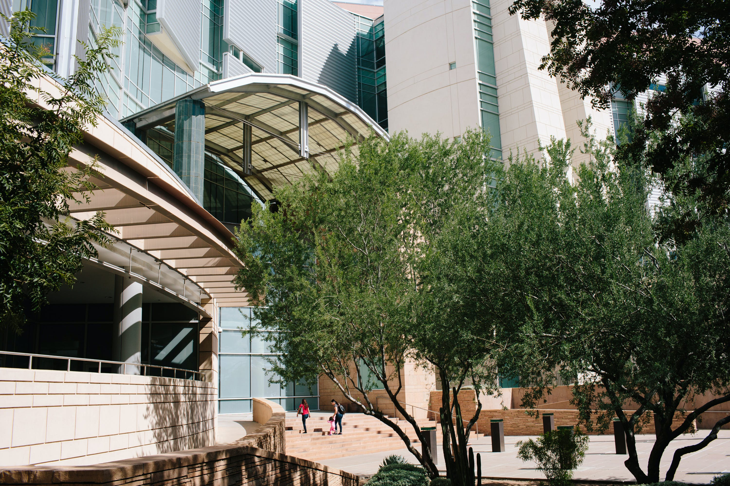 The Evo A. DeConcini United States Courthouse seen on Oct. 22 in Tucson, Ariz. (Caitlin O'Hara for The Intercept)