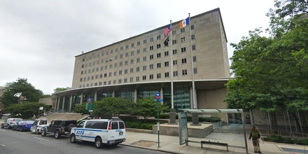 The Queens County Criminal Court in New York.