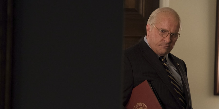 Christian Bale as Dick Cheney in Adam McKay's VICE, an Annapurna Pictures release. Credit : Matt Kennedy / Annapurna Pictures2018 © Annapurna Pictures, LLC. All Rights Reserved.