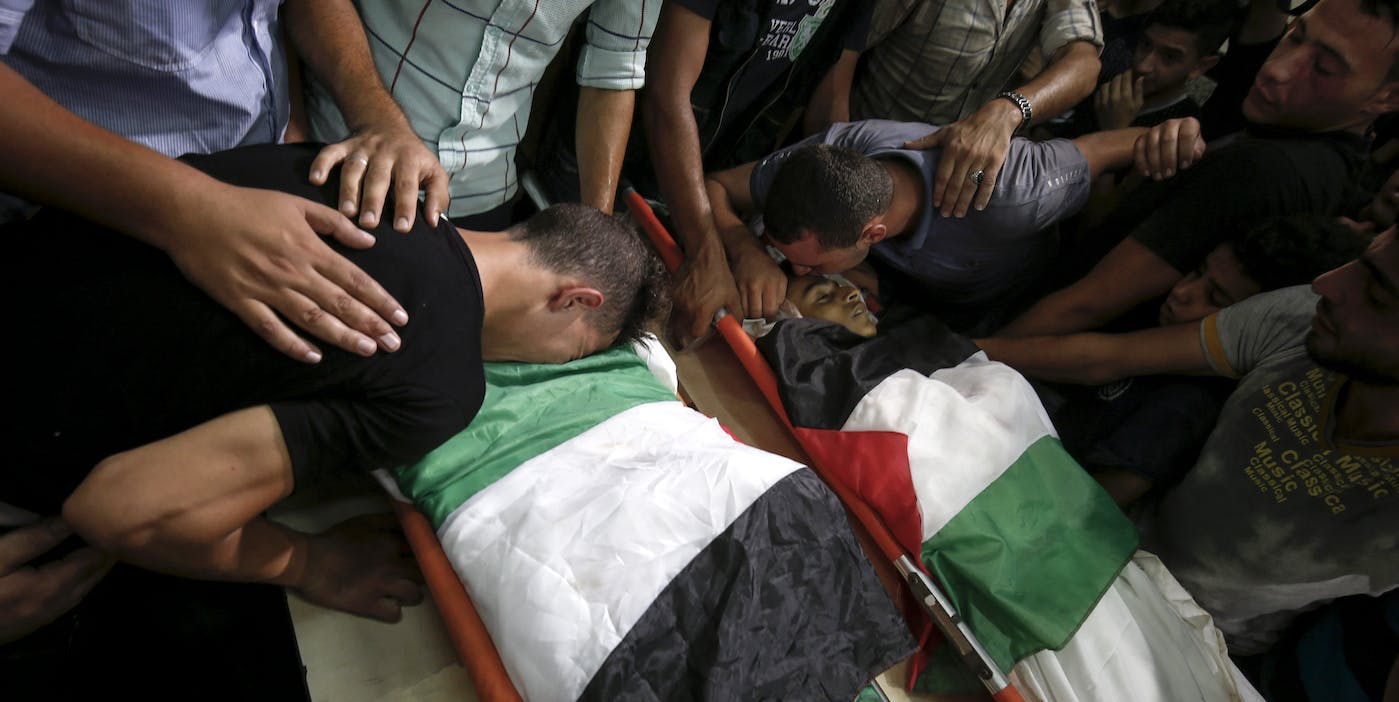 Israel Tampered With Video of Strike That Killed Two Palestinian Boys, Investigators Say