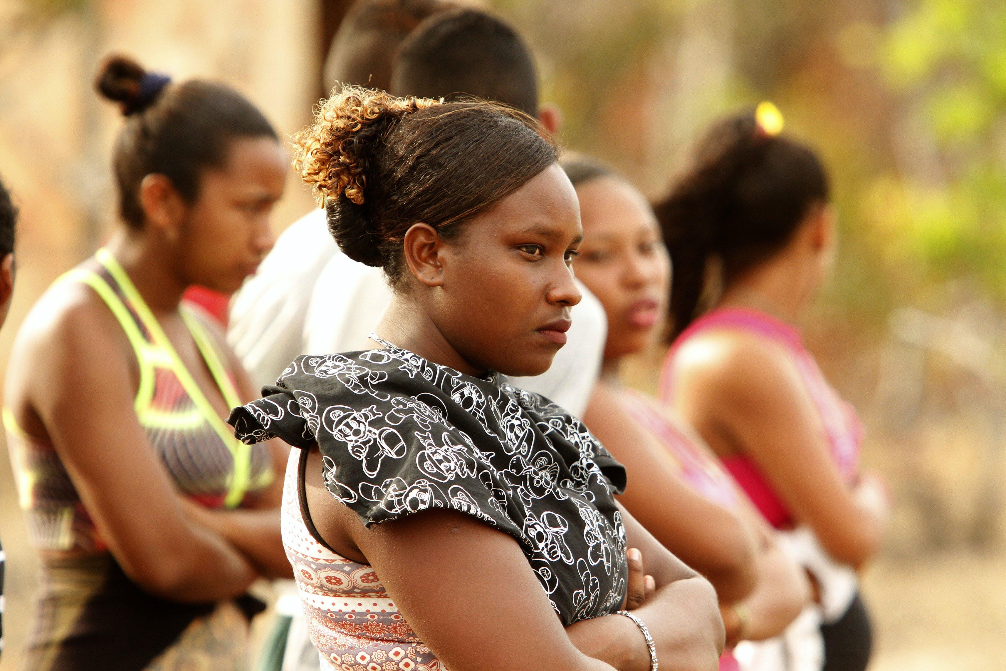Mulheres quilombolas da comunidade Vila União, na Ilha do Marajó (PA).