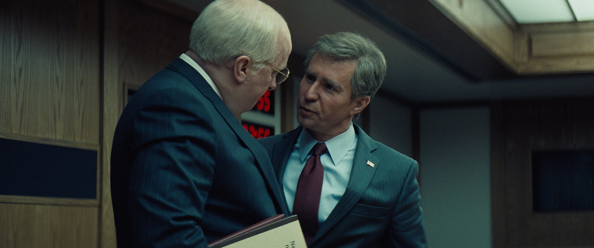 """""""Vice"""" Entertains While Staying True to Dick Cheney's Evil Christian Bale"""