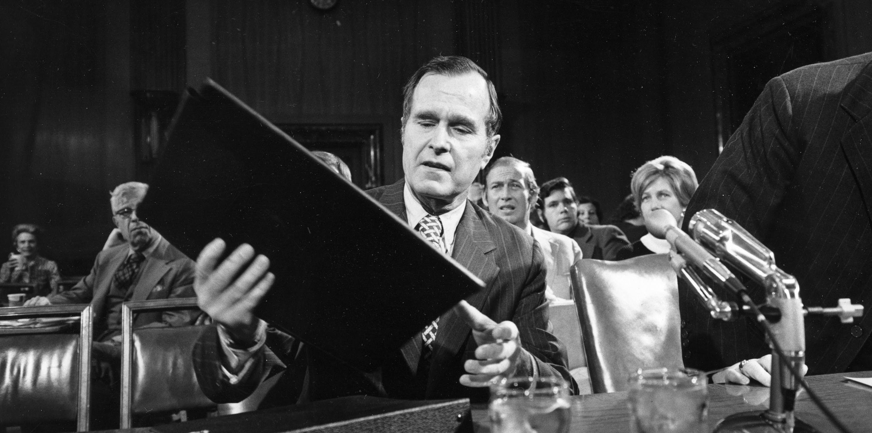 How George H.W. Bush Rode a Fake National Security Scandal to the Top of the CIA