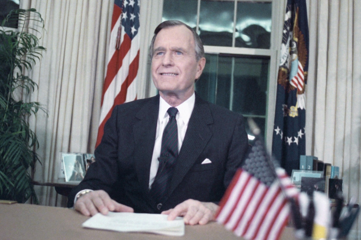 The Ignored Legacy of George H.W. Bush: War Crimes, Racism, and Obstruction of Justice