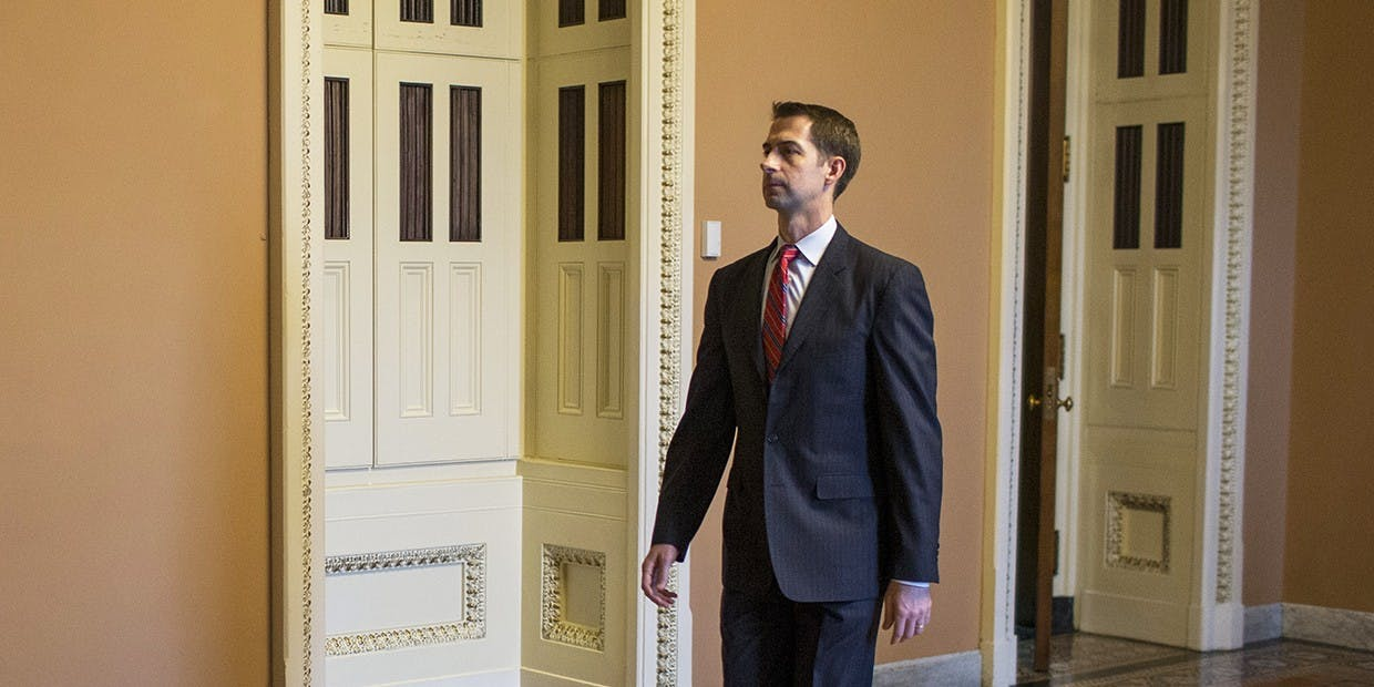 Sen. Tom Cotton Is Trying to Cripple a Bill to End U.S. Support for the War in Yemen