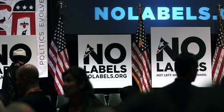 NEW YORK, NY - DECEMBER 13:  People attend the launch of the unaffiliated political organization known as No Labels December 13, 2010 at Columbia University in New York City. The event features numerous politicians, journalists and citizens in a series of panels which address some of the most intractable political issues in America. Led by Republican political consultant Mark McKinnon, Democratic consultant Kiki McLean, political advisor Nancy Jacobson and CNN contributor John Avlon, the group looks to find solutions to problems partly by getting politicians to put aside their partisan behavior in order to find common ground.  (Photo by Spencer Platt/Getty Images)