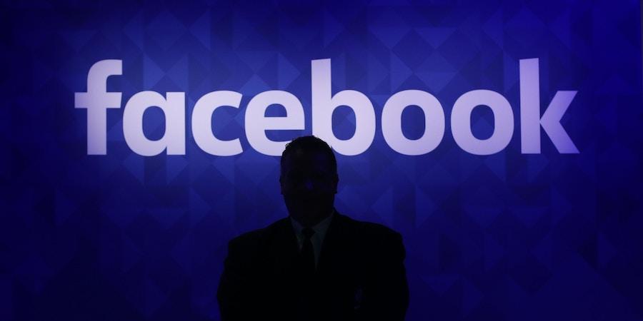 Estande do Facebook na Web Summit, em Dublin, em 11 de março de 2015.