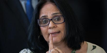 Damares Alves, ministra da Mulher, Família e Direitos Humanos.