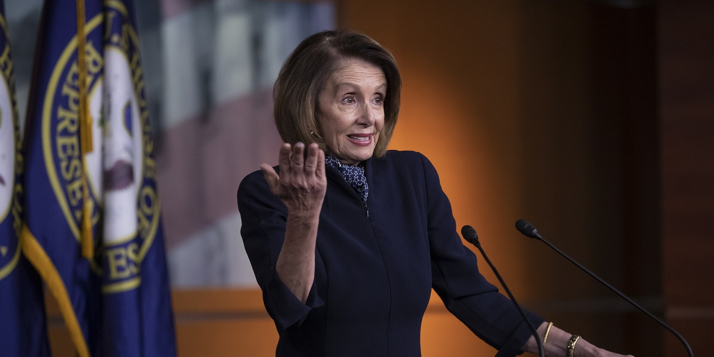 Nancy Pelosi Rams Austerity Provision Into House Rules Package