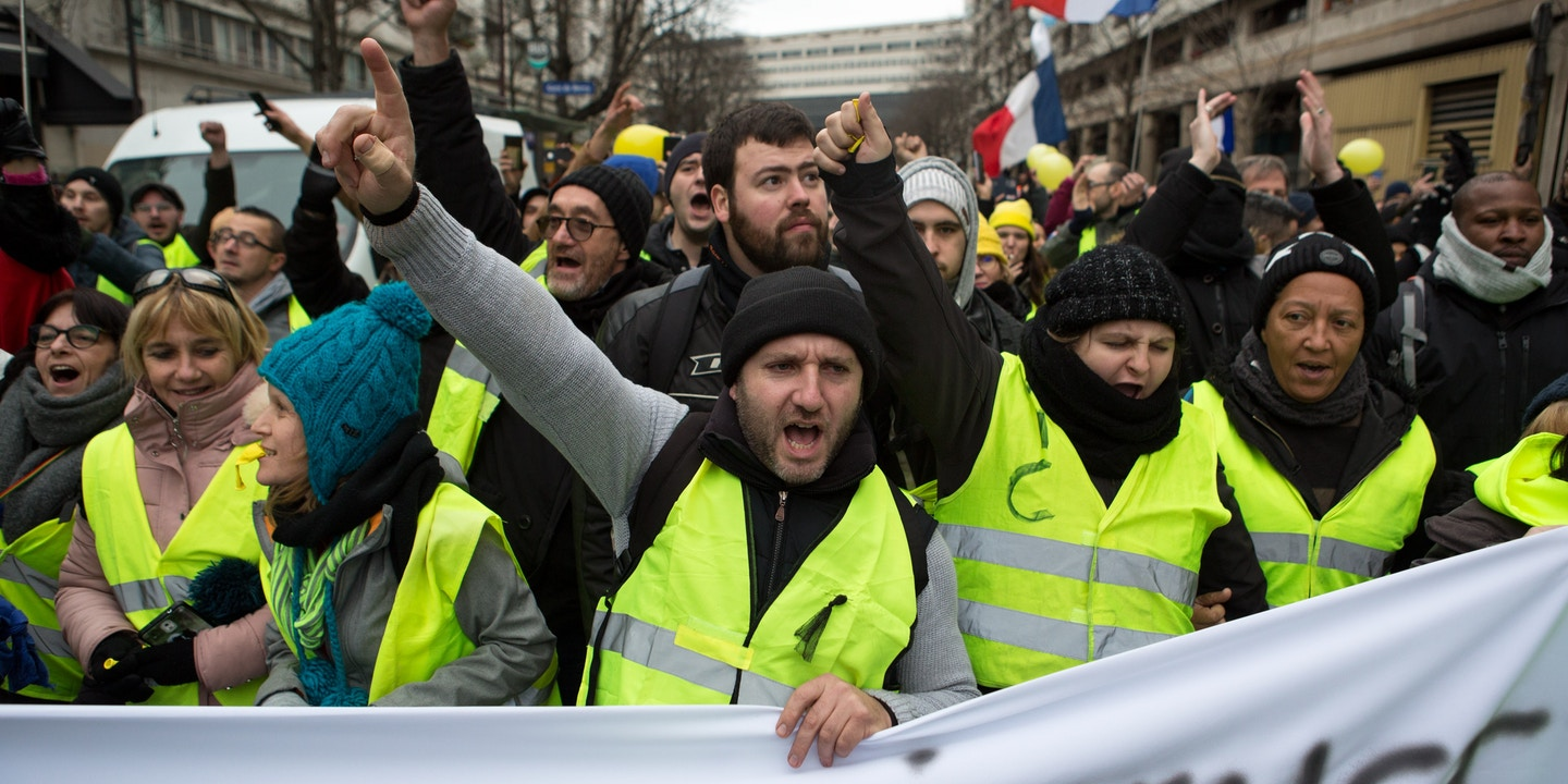 Yellow Vest Protests Challenge France S Emmanuel Macron