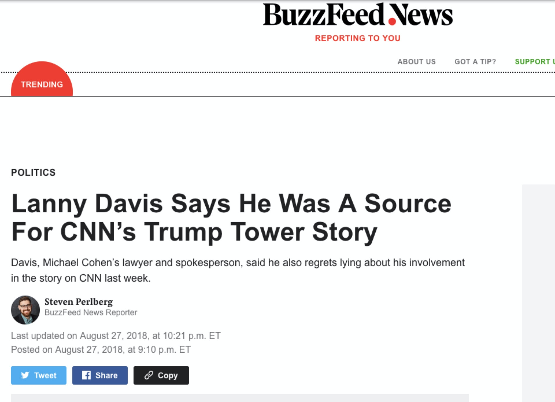 Ten Most Embarrassing U S  Media Failures on the Trump