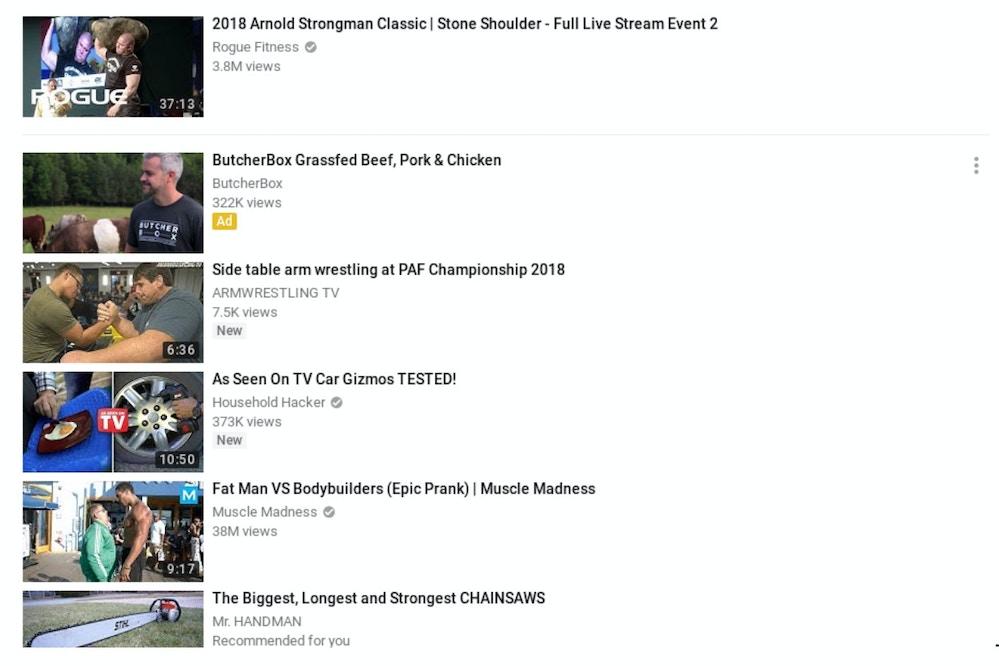 Videos mais vistos do youtube 2019