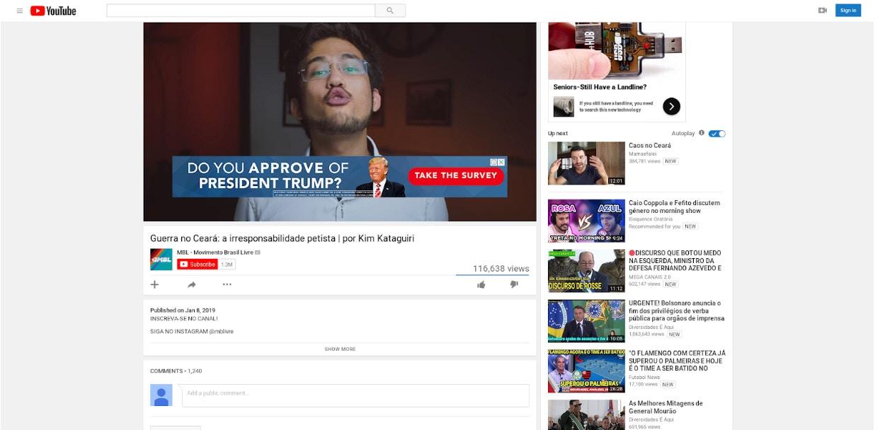Para Além do Cérebro: The Intercept: Como o YouTube se