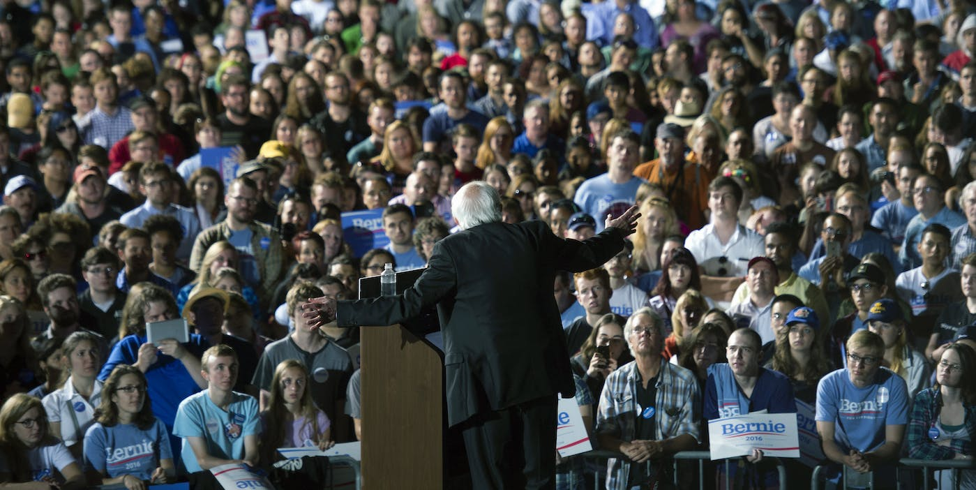 Bernie Sanders Is Running for President and He Wants 1 Million Campaign Volunteers