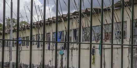 Instalações do Complexo Penitenciário Anísio Jobim (Compaj).