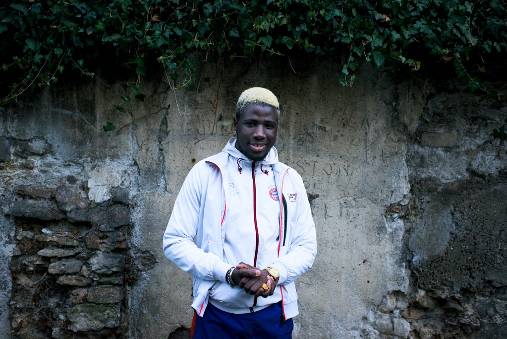 Mamadou Camara poses for a portrait near his home on February 9, 2019 in Épinay-sur-Seine, France. (Pete Kiehart for The Intercept)