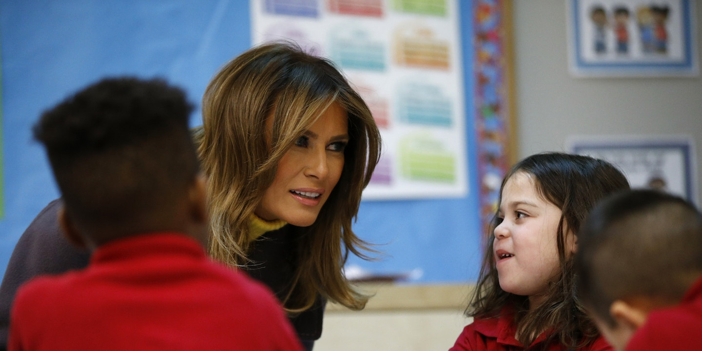 Melania Trump Visits School Linked to Exiled Turkish Cleric