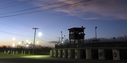 16 October 2018, Cuba, Guantanamo Bay: An unused portion of the U.S. detention facility. The infamous camp has now existed for almost 17 years. 40 inmates are still being held there. (to dpa