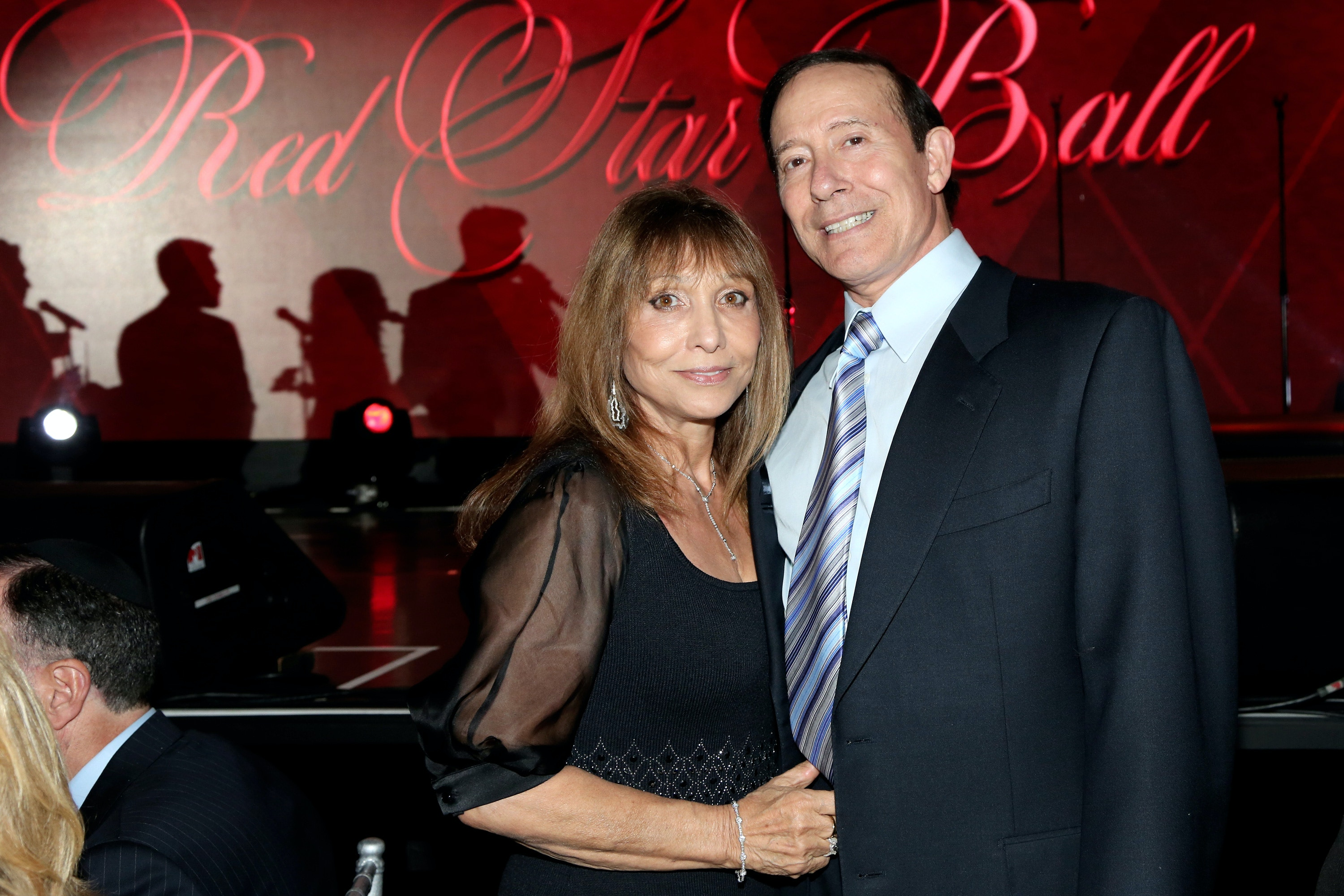 BEVERLY HILLS, CA - NOVEMBER 01:  Honorees Gila Milstein (L) and Adam Milstein attend the American Friends of Magen David Adom's Red Star Ball at The Beverly Hilton Hotel on November 1, 2016 in Beverly Hills, California.  (Photo by Maury Phillips/Getty Images for American Friends of Magen David Adom )