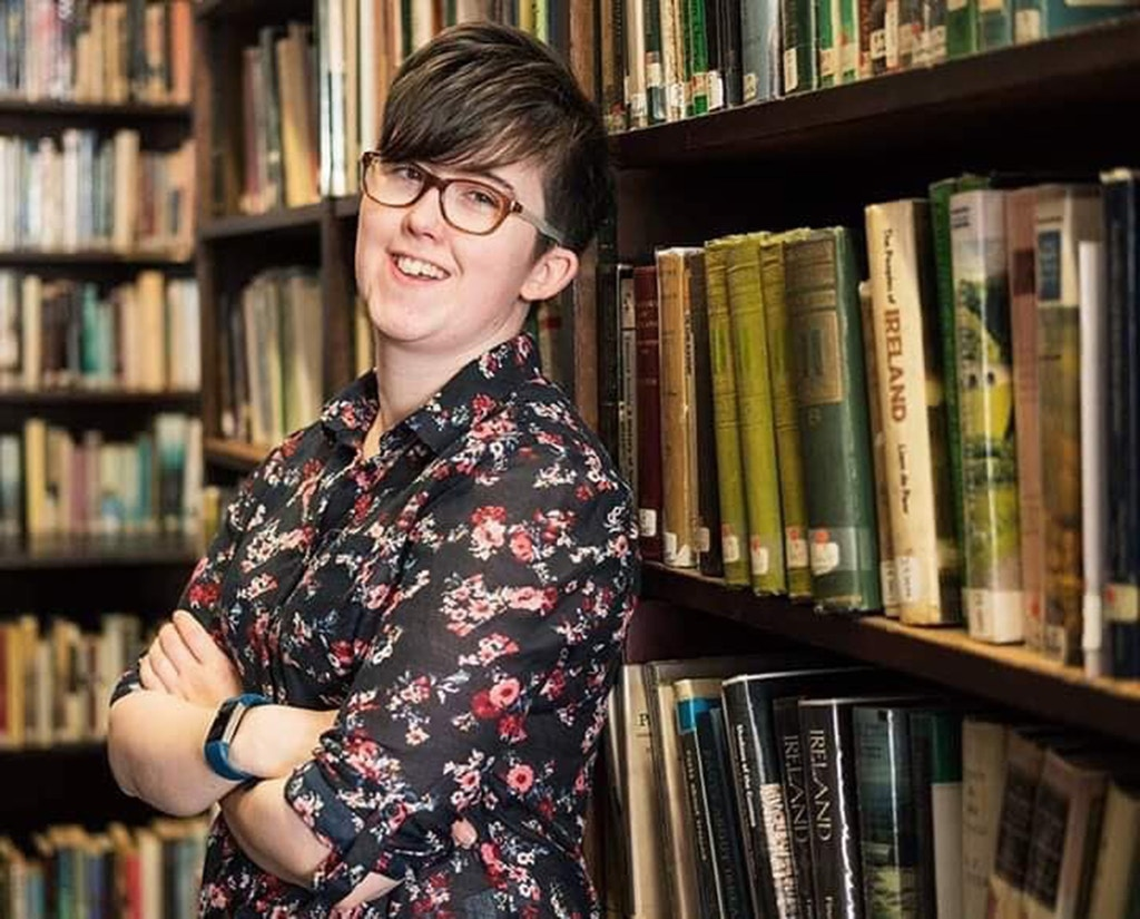 LONDONDERRY, NORTHERN IRELAND - This undated handout photo provided by PSNI (Police Service of Northern Ireland) shows journalist Lyra McKee, who was killed in a shooting on April 18, 2019 in Londonderry, Northern Ireland. Journalist and Author Lyra McKee was killed in a 'terror incident' while reporting from the scene of rioting in Derry's Creggan neighbourhood after police raided properties in the Mulroy Park and Galliagh area on the night of Thursday 18th April 2019.  Reports say that she was killed as shots were fired from a single gun. Lyra McKee was well known for covering the lasting trauma and the violence of the Northern Ireland Troubles. (Photo by PSNI via Getty Images)