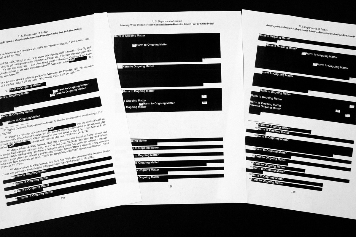 Report When Black Students And White >> Unanswered Questions In The Mueller Report