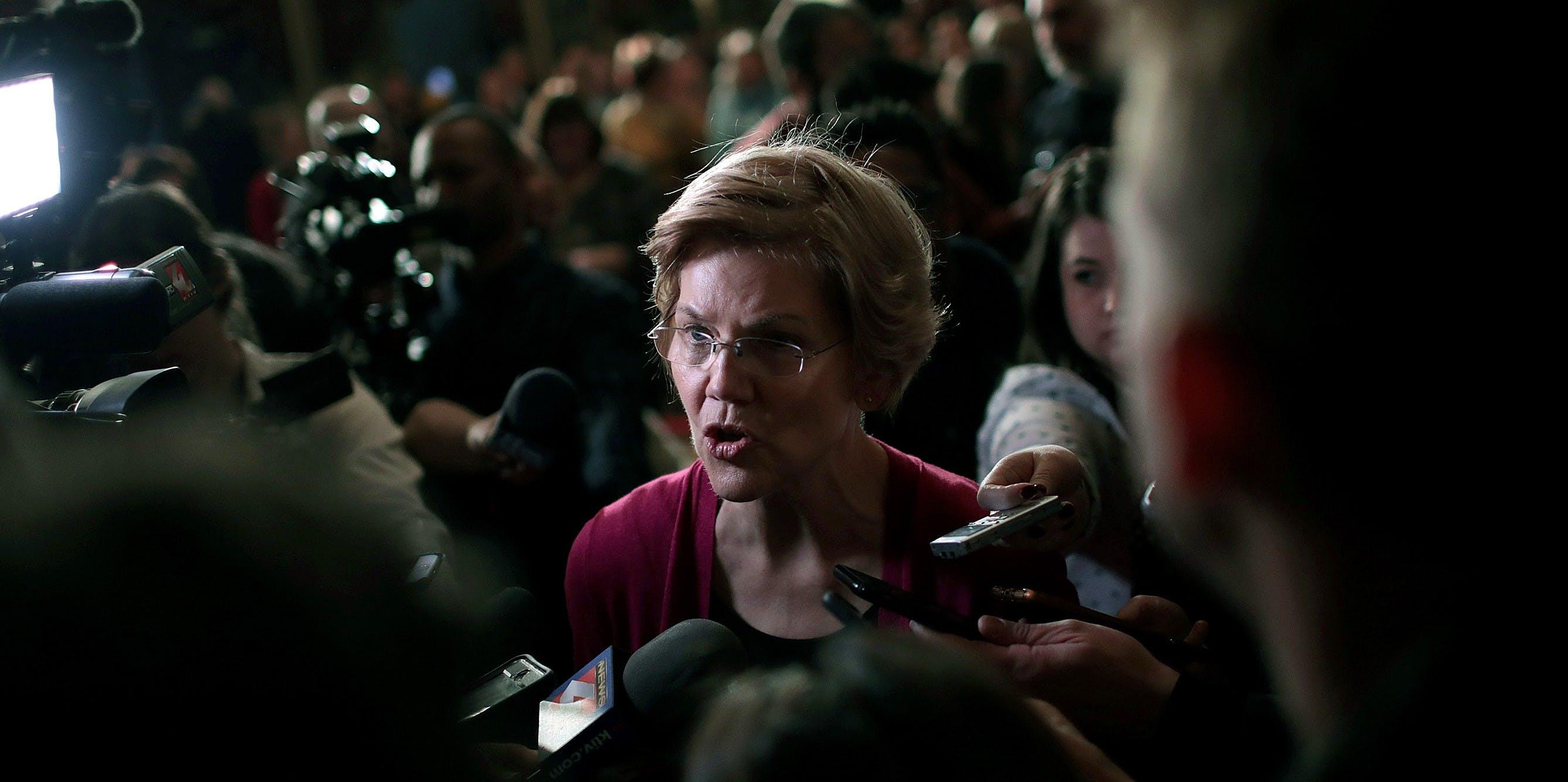Elizabeth Warren Presses Pentagon on Its Planning for Climate Change