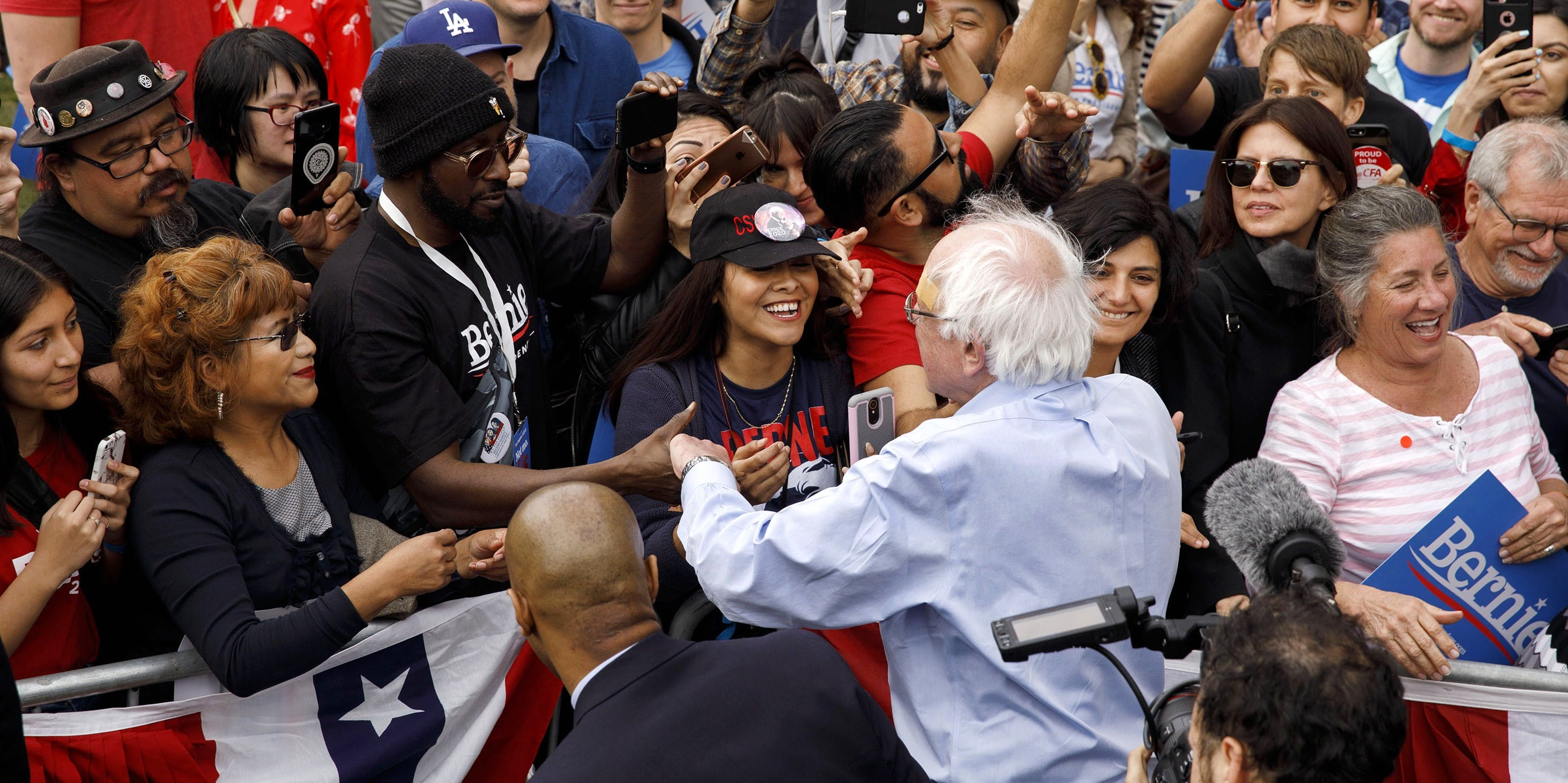 Bernie Sanders Is the Most Popular 2020 Candidate Among Hispanic Voters, New Polling Finds