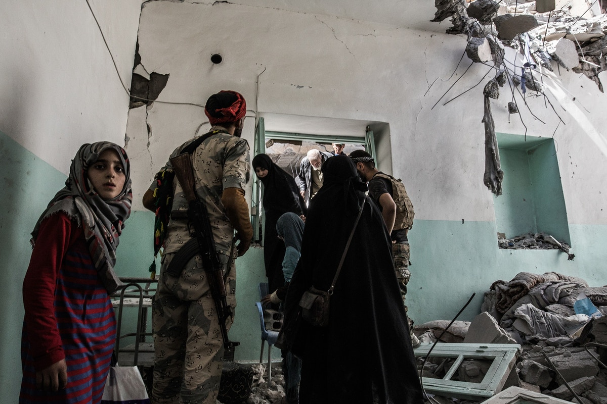 Coalition Airstrikes in Raqqa Killed at Least 1,600 Civilians, More Than 10 Times U.S. Tally, Report Finds