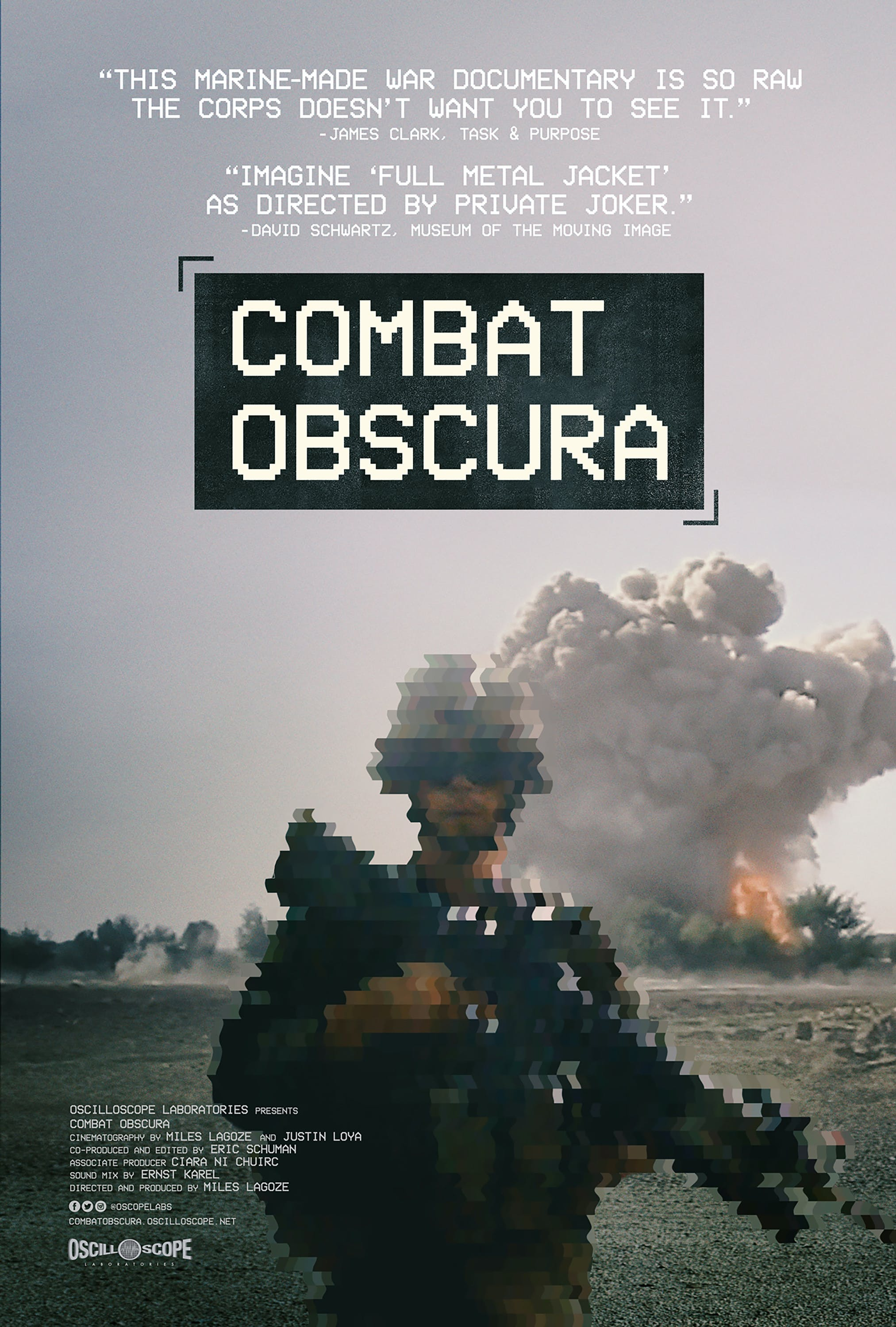 Combat Obscura documentary poster