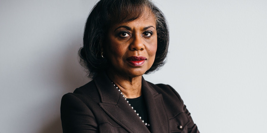 Anita Hill, a professor at Brandeis University and head of the Hollywood Commission on Eliminating Sexual Harassment and Advancing Equality, in Waltham, Mass., Nov. 20, 2018. Hill reflects on her and Christine Blasey Ford's testimonies 27 years apart before the Senate Judiciary Committee, and what it would really take to remedy sexual harassment. (Elizabeth D. Herman/The New York Times)