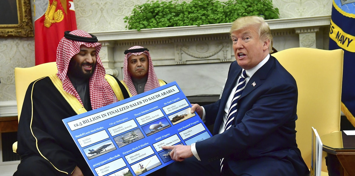 theintercept.com - Alex Emmons - The Trump Administration Is Declaring a Fake Emergency to Sell Weapons to Saudi Arabia
