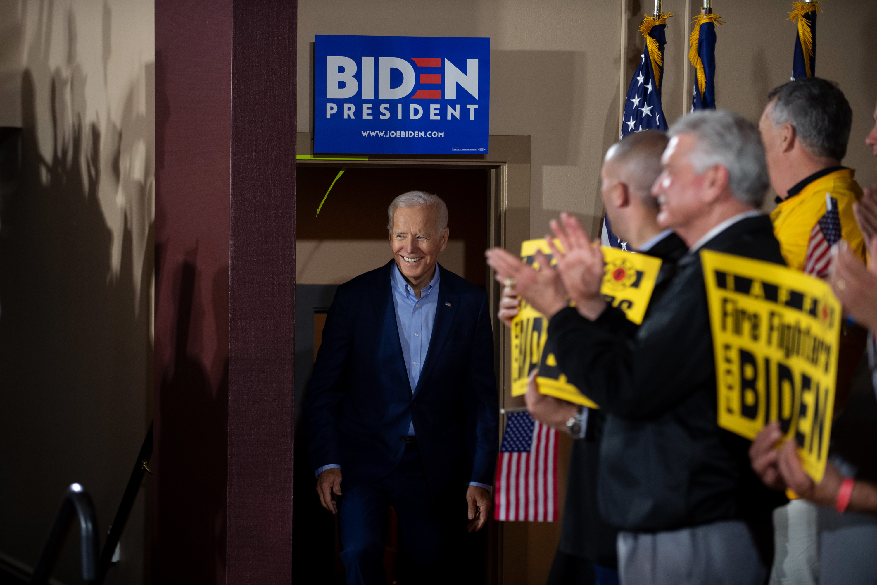 """18/"""" x 12/"""" 5-Pack Political Campaign Yard Signs Joe Biden 2020 2-Sided Signs"""