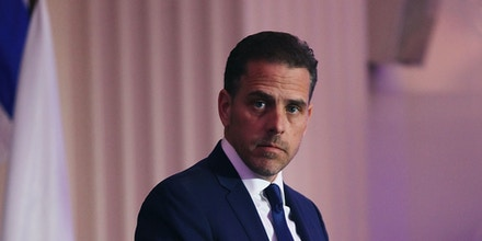 Hunter Biden speaks at an event in Washington, D.C., on April 12, 2016.