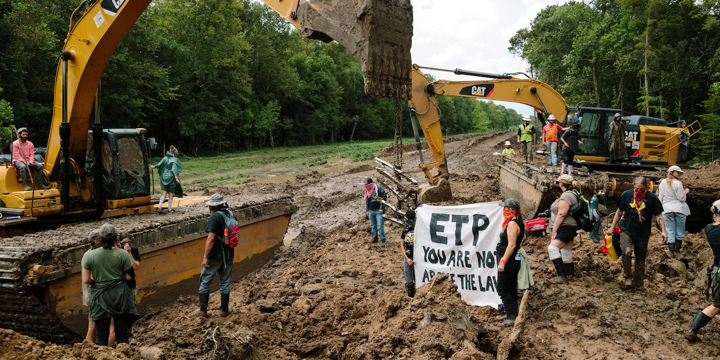 Pipeline Opponents Strike Back Against Anti-Protest Laws