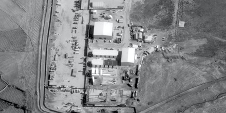 """The NSA's revolutionary """"Real Time-Regional Gateway"""" data center at Area 82 in Bagram airfield, Afghanistan."""