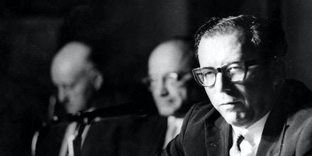 O economista e diplomata Roberto Campos em 1966.